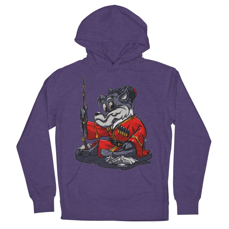 Wolf from Russia Men's Pullover Hoody by fishark's Artist Shop