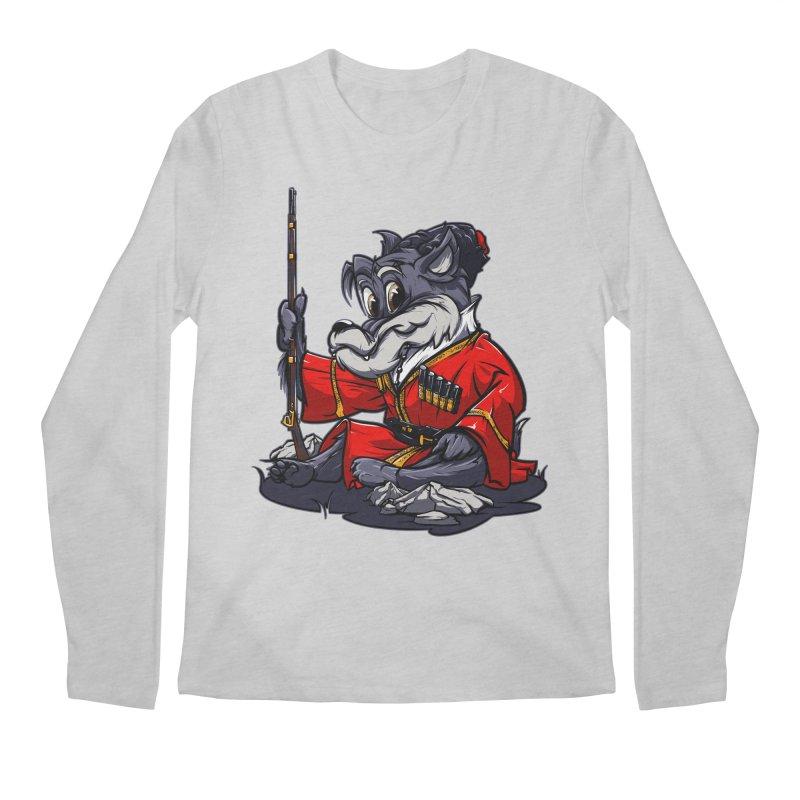 Wolf from Russia Men's Longsleeve T-Shirt by fishark's Artist Shop