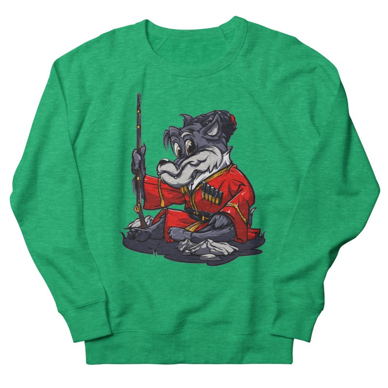 Wolf from Russia Women's Sweatshirt by fishark's Artist Shop