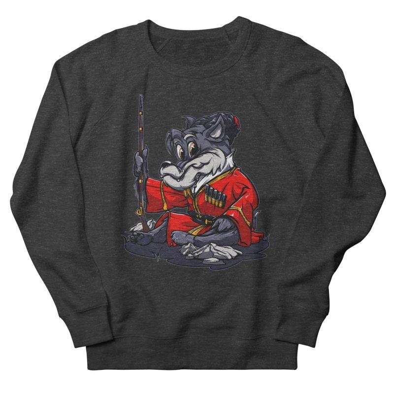 Wolf from Russia Men's Sweatshirt by fishark's Artist Shop