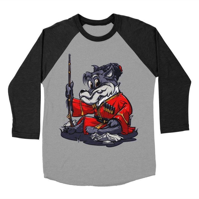 Wolf from Russia Women's Baseball Triblend T-Shirt by fishark's Artist Shop