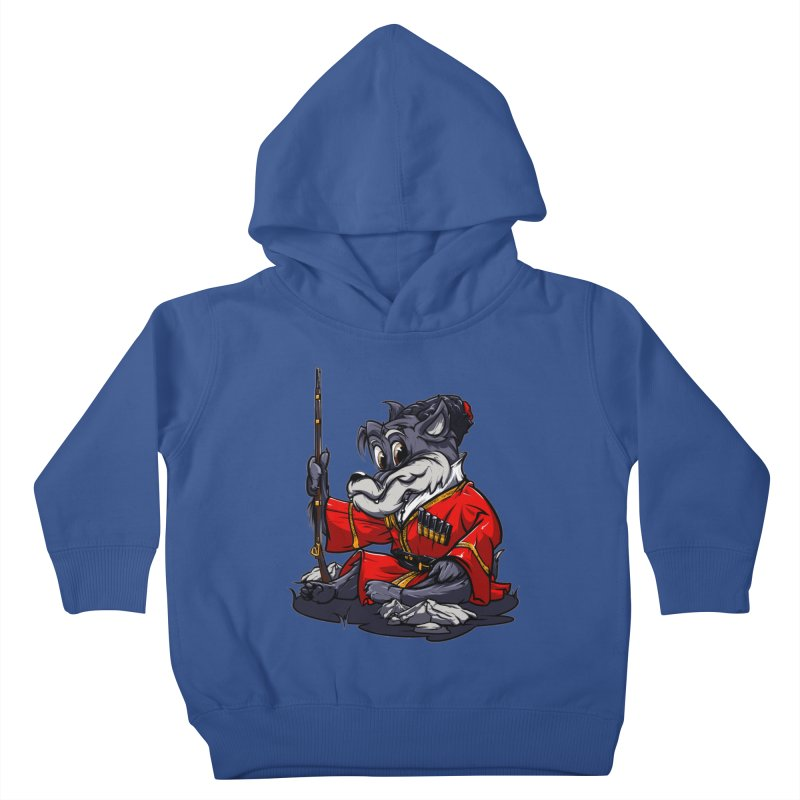 Wolf from Russia Kids Toddler Pullover Hoody by fishark's Artist Shop