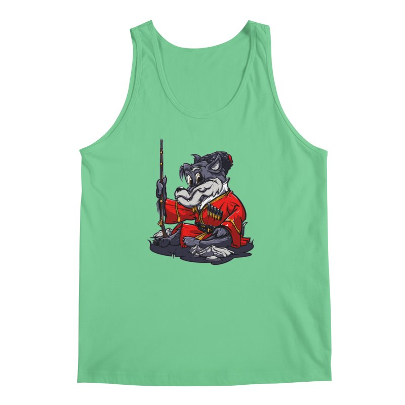 Wolf from Russia Men's Tank by fishark's Artist Shop