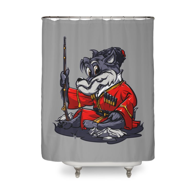 Wolf from Russia Home Shower Curtain by fishark's Artist Shop