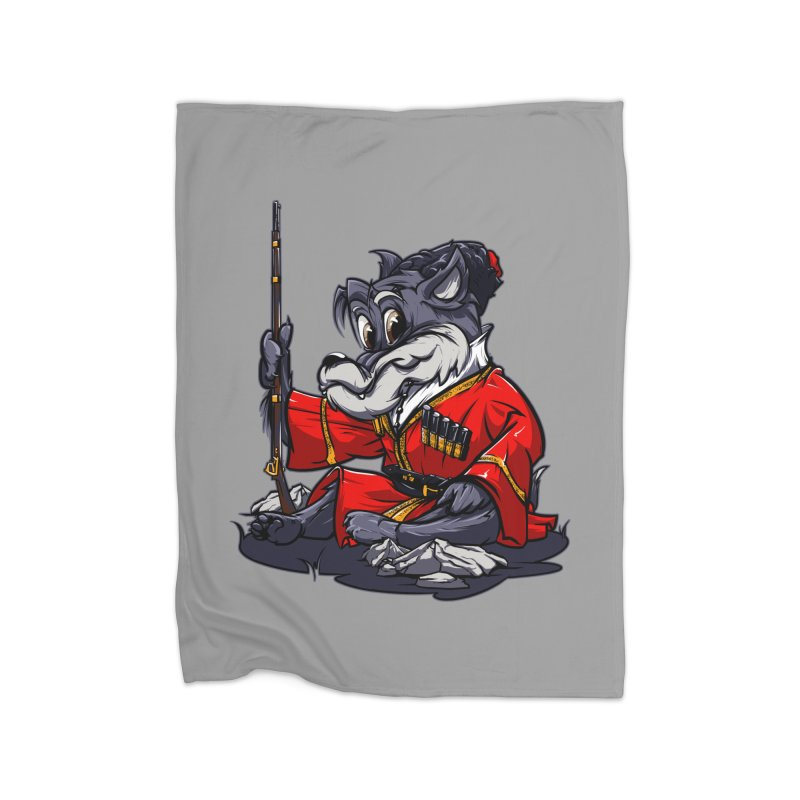 Wolf from Russia Home Blanket by fishark's Artist Shop