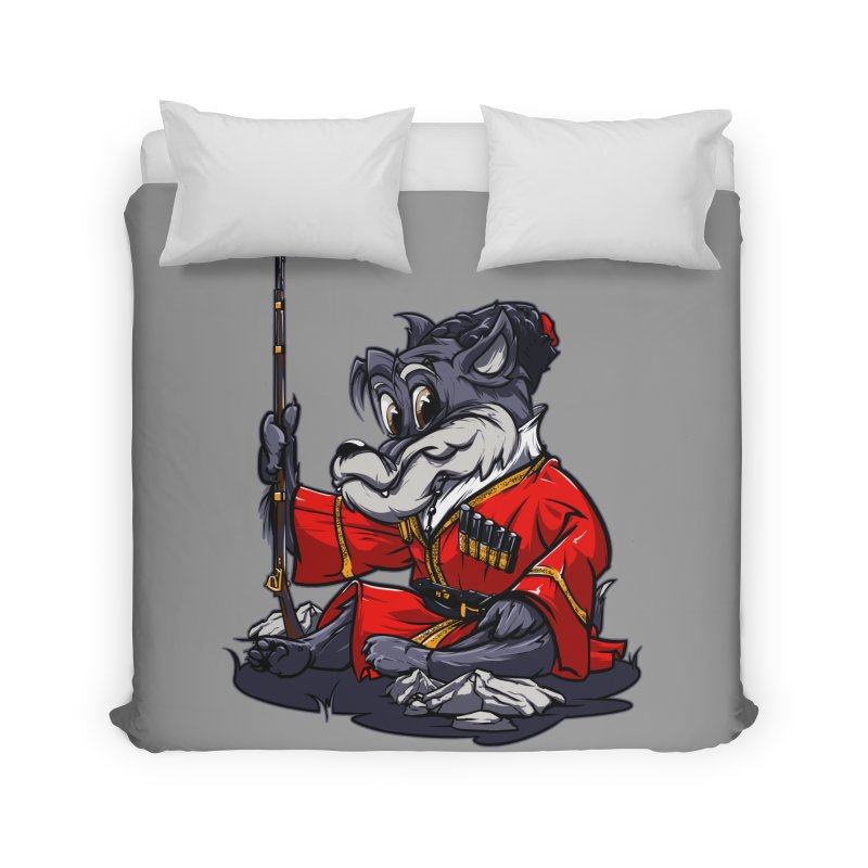Wolf from Russia Home Duvet by fishark's Artist Shop