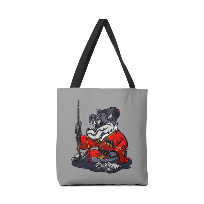 Wolf from Russia Accessories Bag by fishark's Artist Shop