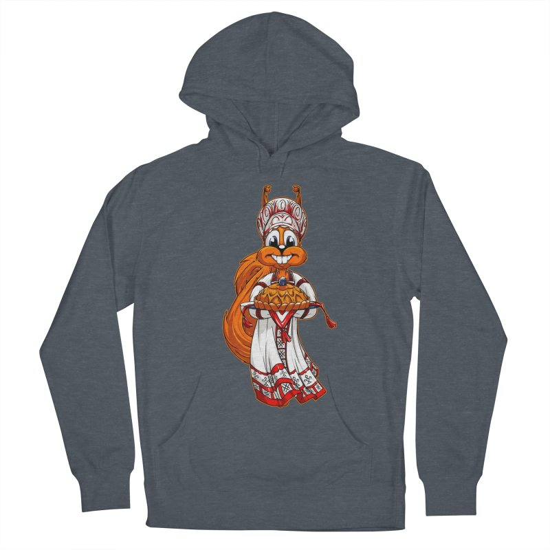 squirrel from Russia Men's Pullover Hoody by fishark's Artist Shop