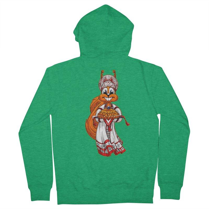 squirrel from Russia Women's Zip-Up Hoody by fishark's Artist Shop