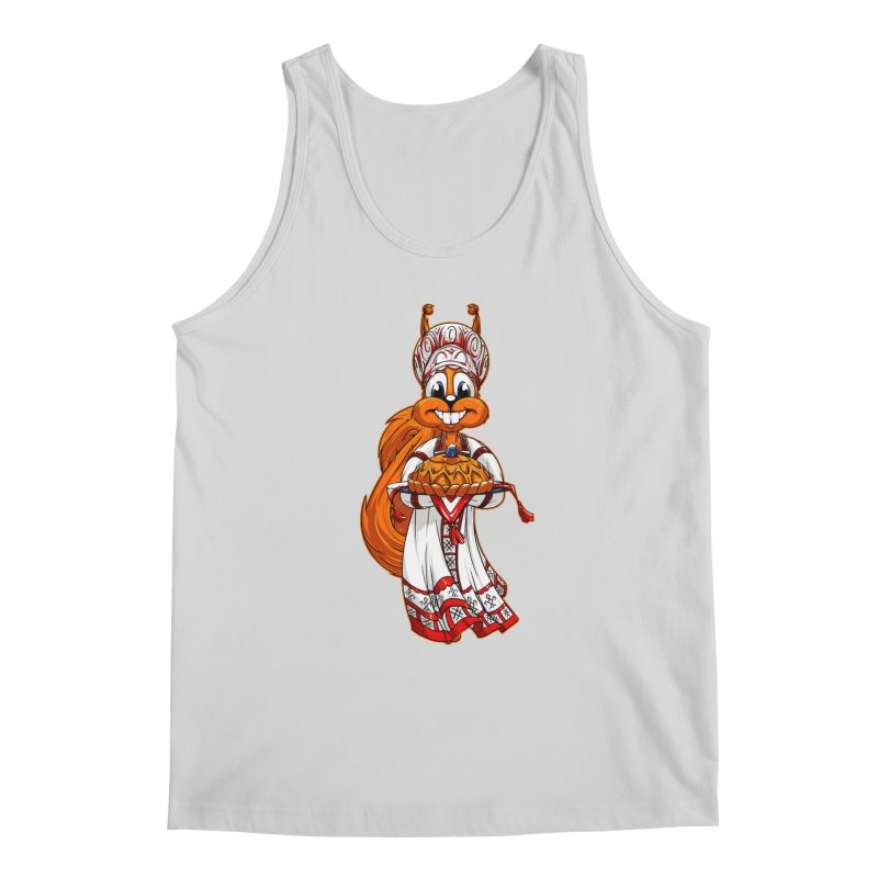 squirrel from Russia Men's Tank by fishark's Artist Shop