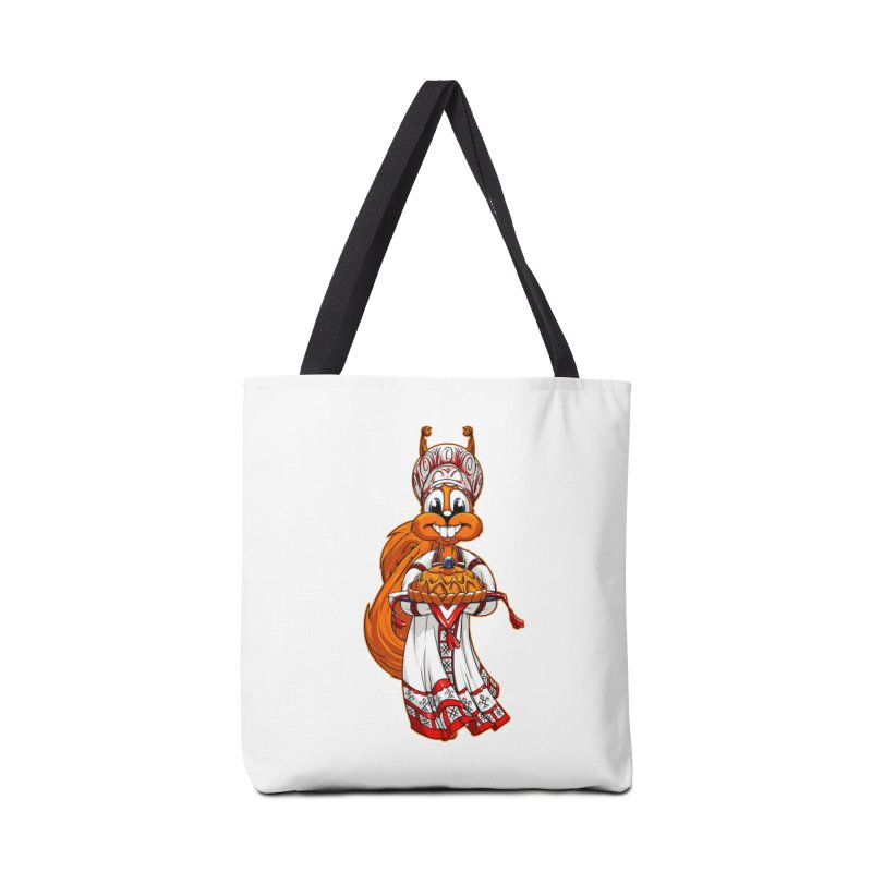 squirrel from Russia Accessories Bag by fishark's Artist Shop