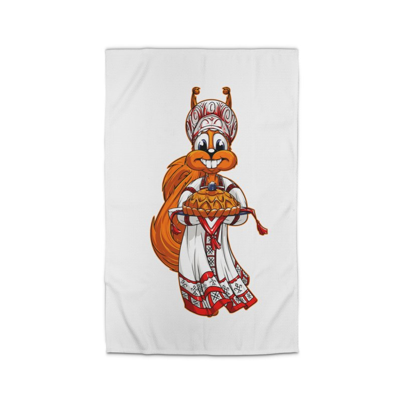 squirrel from Russia Home Rug by fishark's Artist Shop