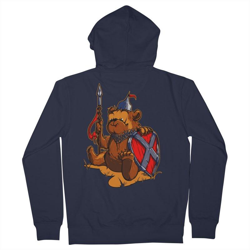 Bear Women's Zip-Up Hoody by fishark's Artist Shop