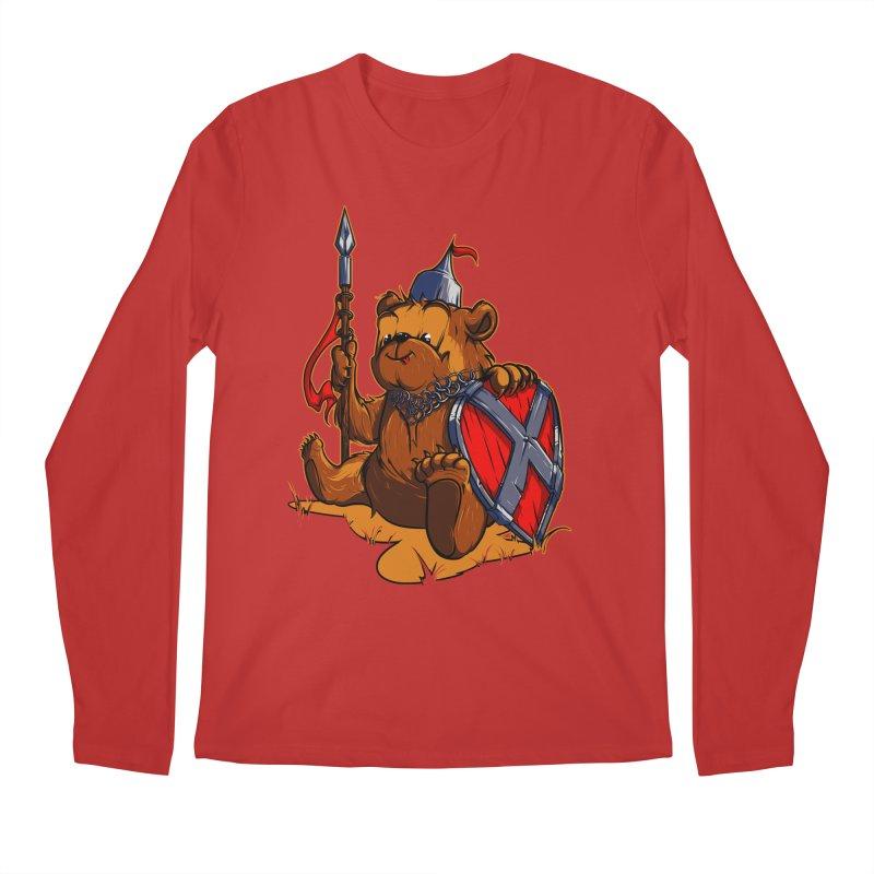 Bear Men's Longsleeve T-Shirt by fishark's Artist Shop