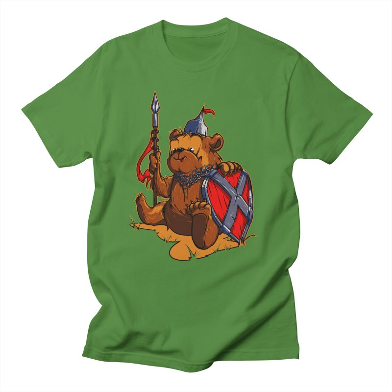 Bear Men's T-shirt by fishark's Artist Shop