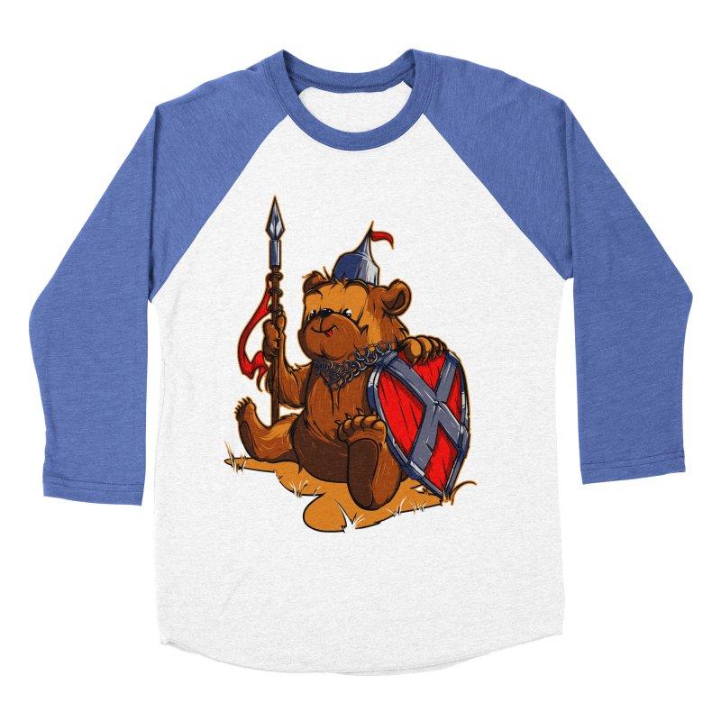 Bear Women's Baseball Triblend T-Shirt by fishark's Artist Shop