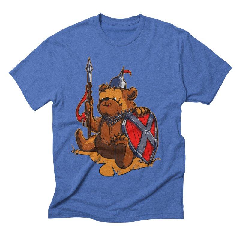 Bear Men's Triblend T-shirt by fishark's Artist Shop