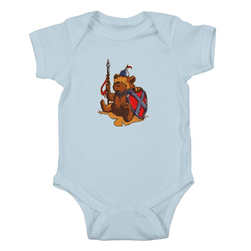 Bear Kids Baby Bodysuit by fishark's Artist Shop