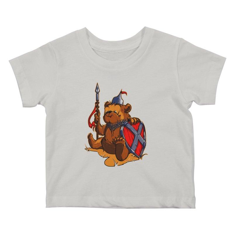 Bear Kids Baby T-Shirt by fishark's Artist Shop