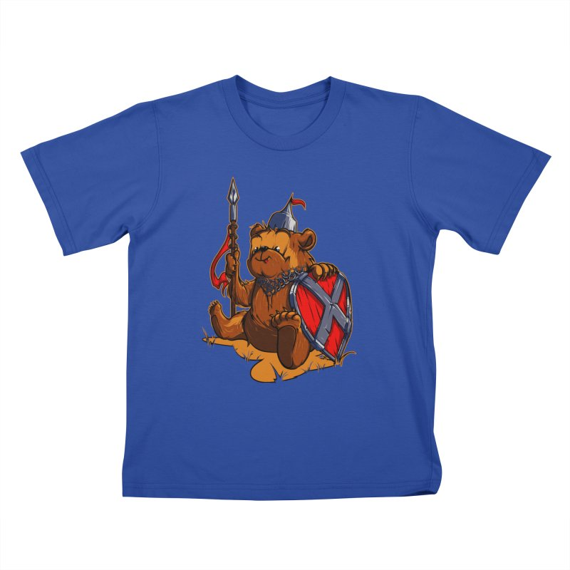 Bear Kids T-Shirt by fishark's Artist Shop