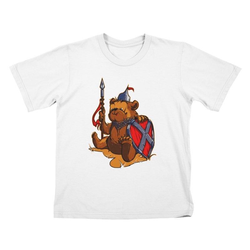 Bear Kids T-shirt by fishark's Artist Shop