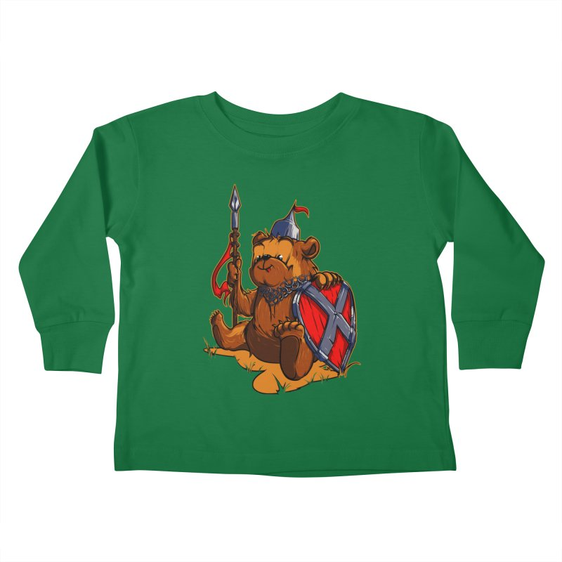 Bear Kids Toddler Longsleeve T-Shirt by fishark's Artist Shop