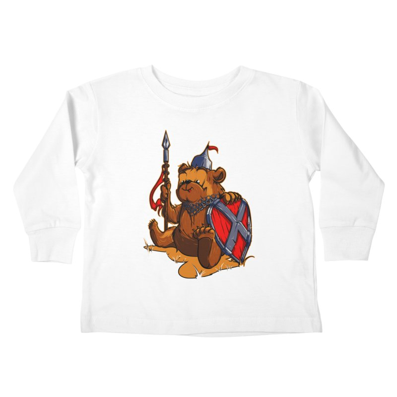 Bear Kids Toddler Longsleeve T-Shirt by fishark's Artist Shop