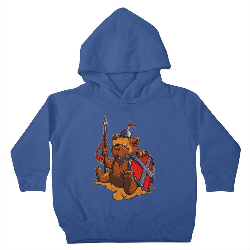 Bear Kids Toddler Pullover Hoody by fishark's Artist Shop