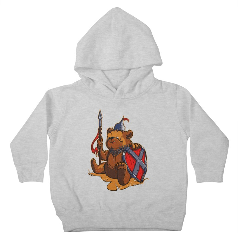 Bear Kids Toddler Pullover Hoody by fishark's Artist Shop
