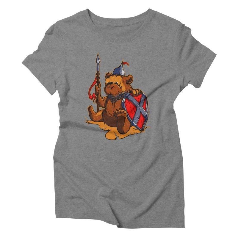 Bear Women's Triblend T-Shirt by fishark's Artist Shop