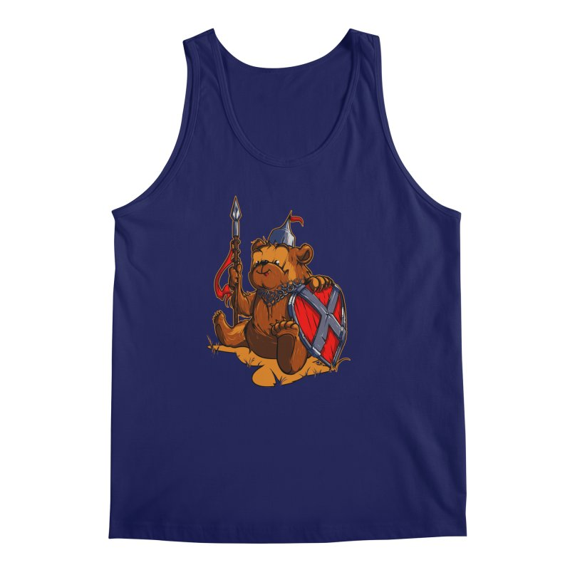Bear Men's Tank by fishark's Artist Shop
