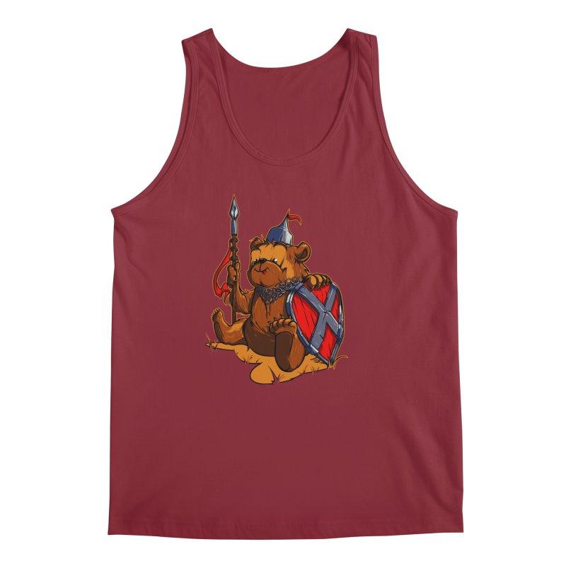 Bear Men's Tank by fishark's Artist Shop