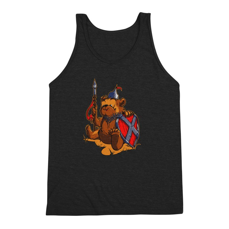Bear Men's Triblend Tank by fishark's Artist Shop