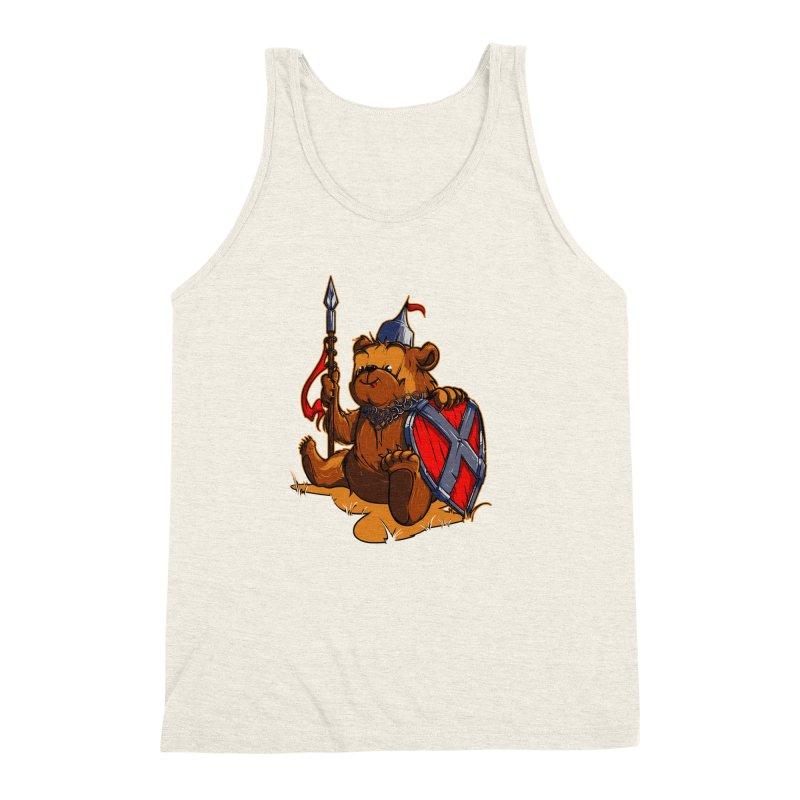 Bear Men's Triblend Tank by fishark's Artist Shop