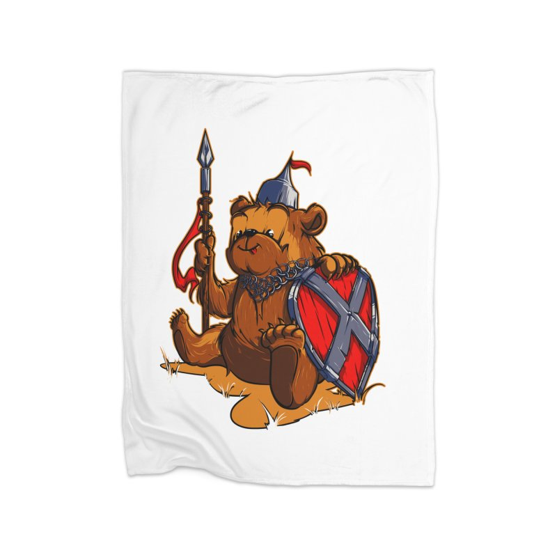 Bear Home Blanket by fishark's Artist Shop