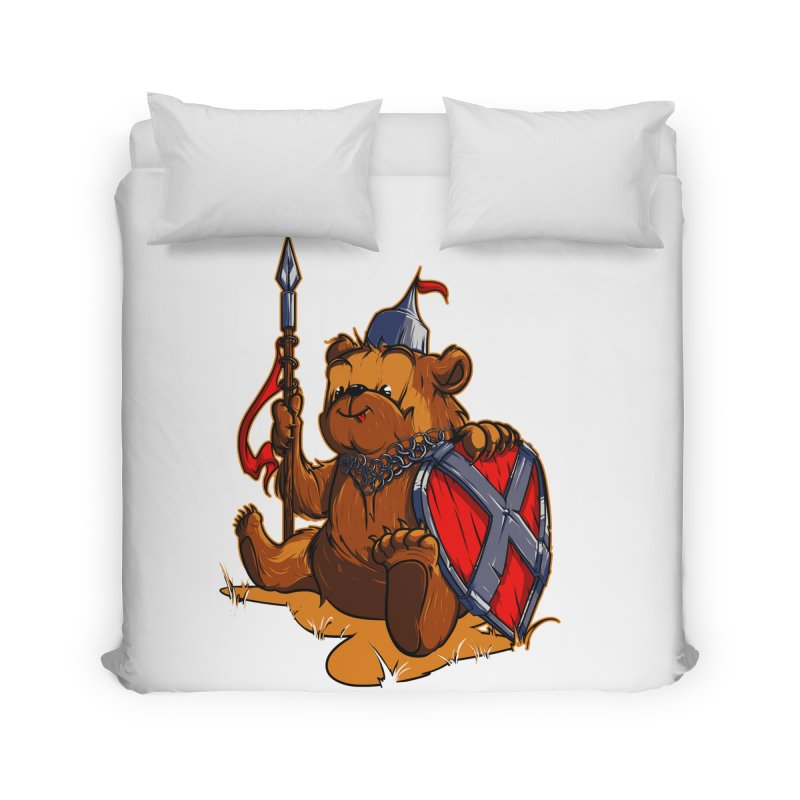 Bear Home Duvet by fishark's Artist Shop