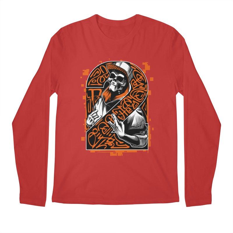 be yourself  Men's Longsleeve T-Shirt by fishark's Artist Shop
