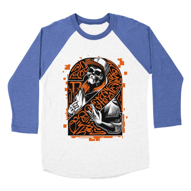 be yourself  Women's Baseball Triblend T-Shirt by fishark's Artist Shop
