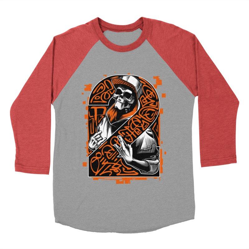 be yourself  Men's Baseball Triblend T-Shirt by fishark's Artist Shop