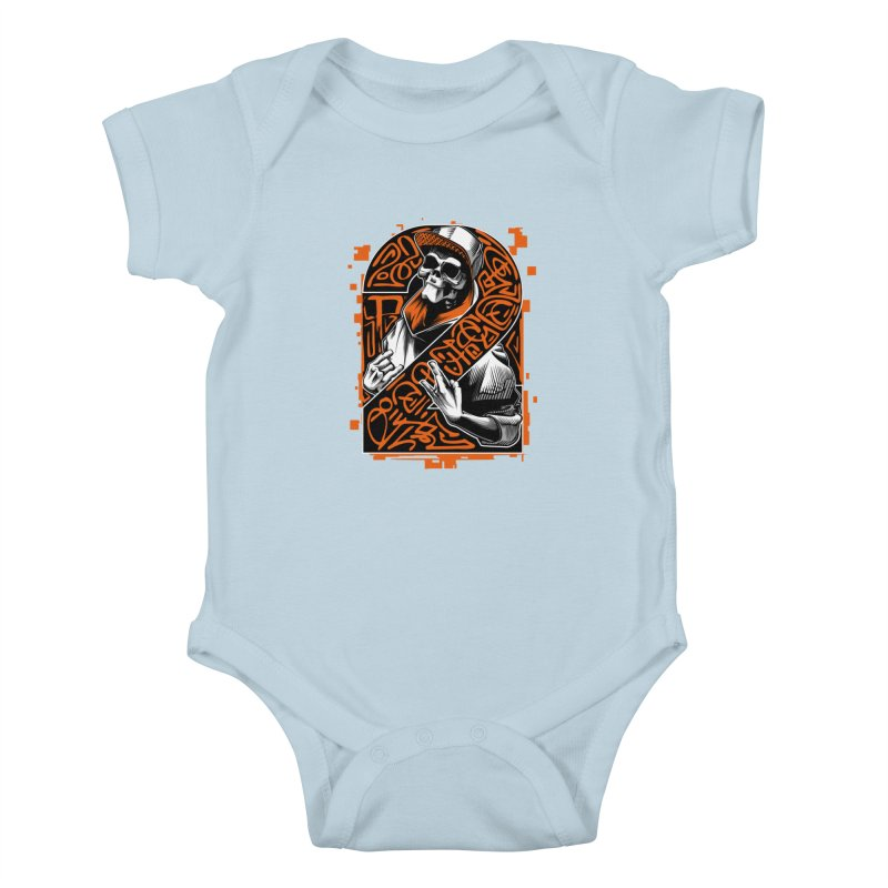 be yourself  Kids Baby Bodysuit by fishark's Artist Shop