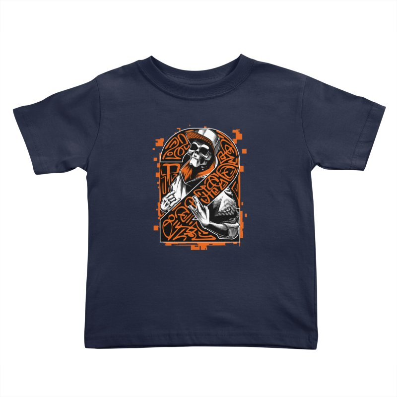 be yourself  Kids Toddler T-Shirt by fishark's Artist Shop