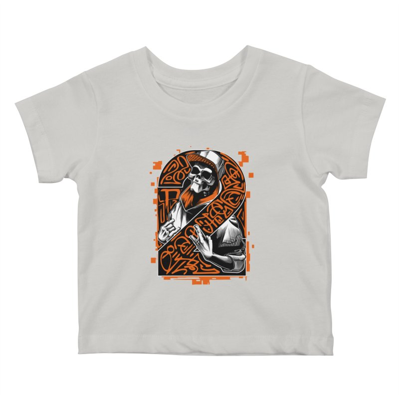 be yourself  Kids Baby T-Shirt by fishark's Artist Shop