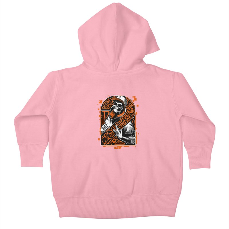 be yourself  Kids Baby Zip-Up Hoody by fishark's Artist Shop