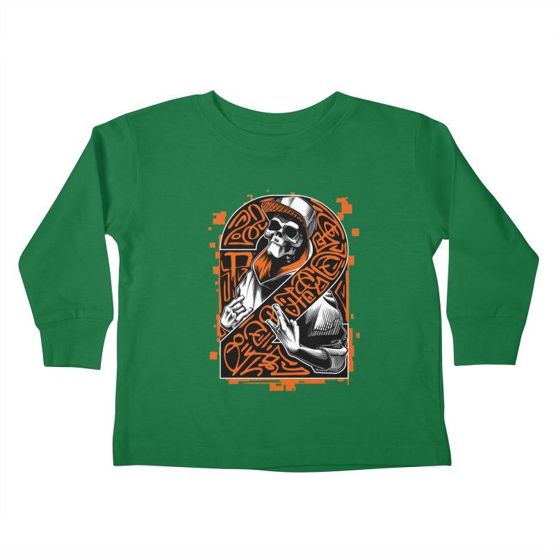 be yourself  Kids Toddler Longsleeve T-Shirt by fishark's Artist Shop