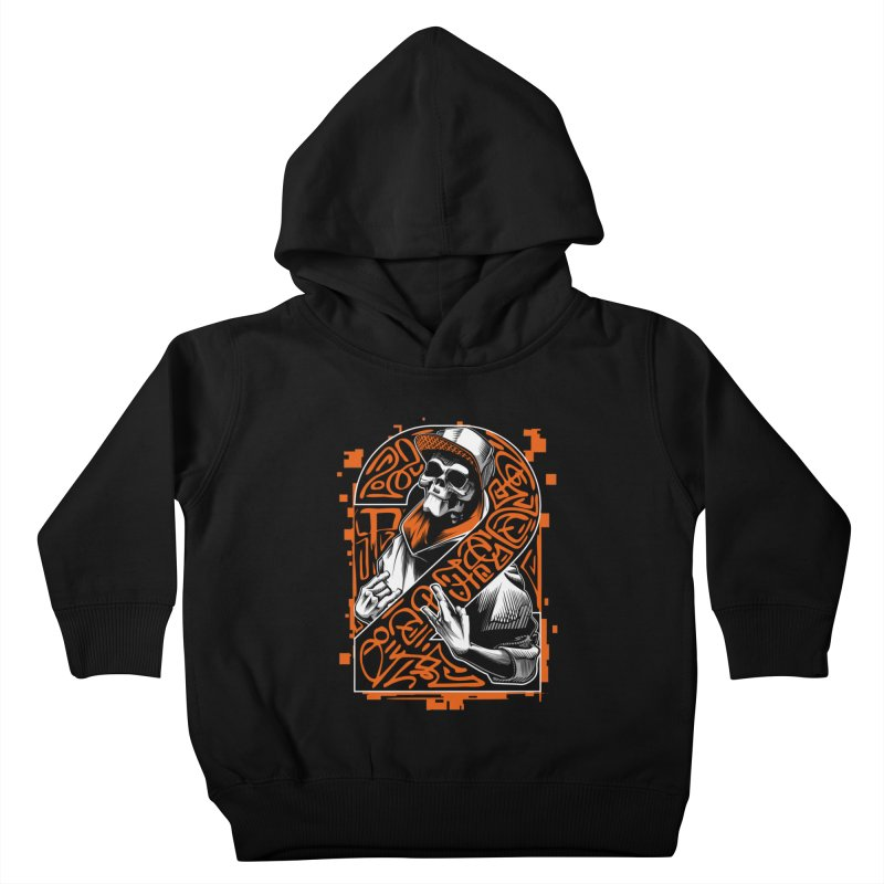 be yourself  Kids Toddler Pullover Hoody by fishark's Artist Shop