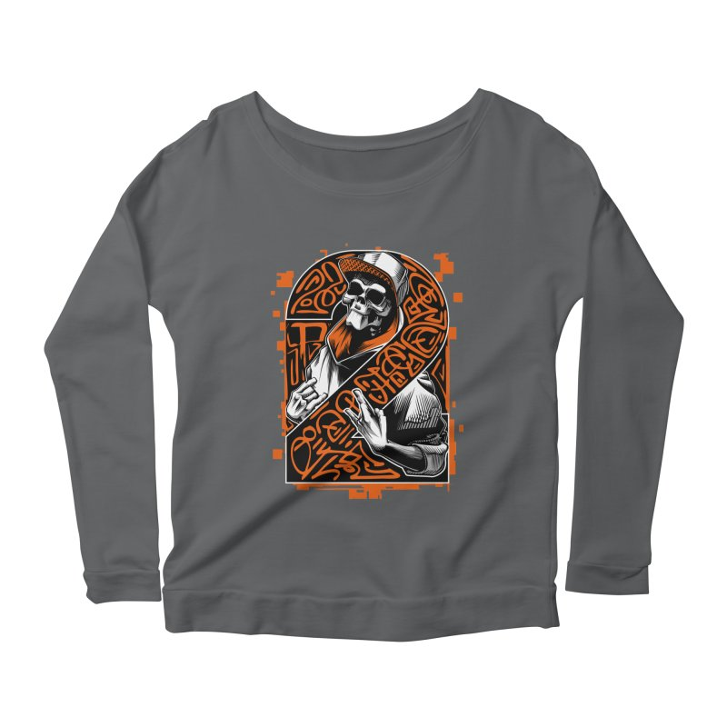 be yourself  Women's Longsleeve Scoopneck  by fishark's Artist Shop