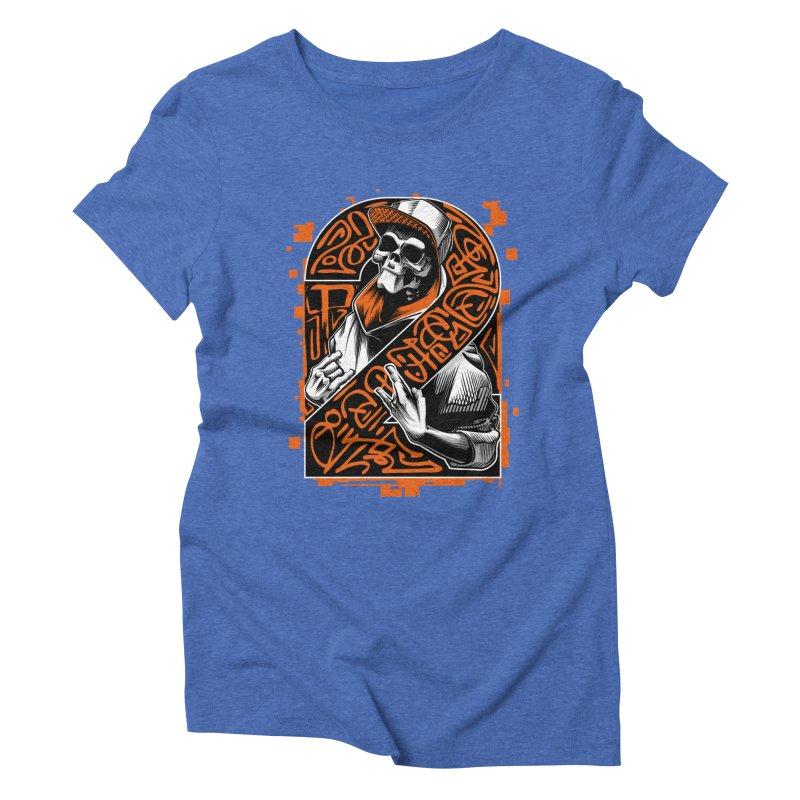 be yourself  Women's Triblend T-shirt by fishark's Artist Shop