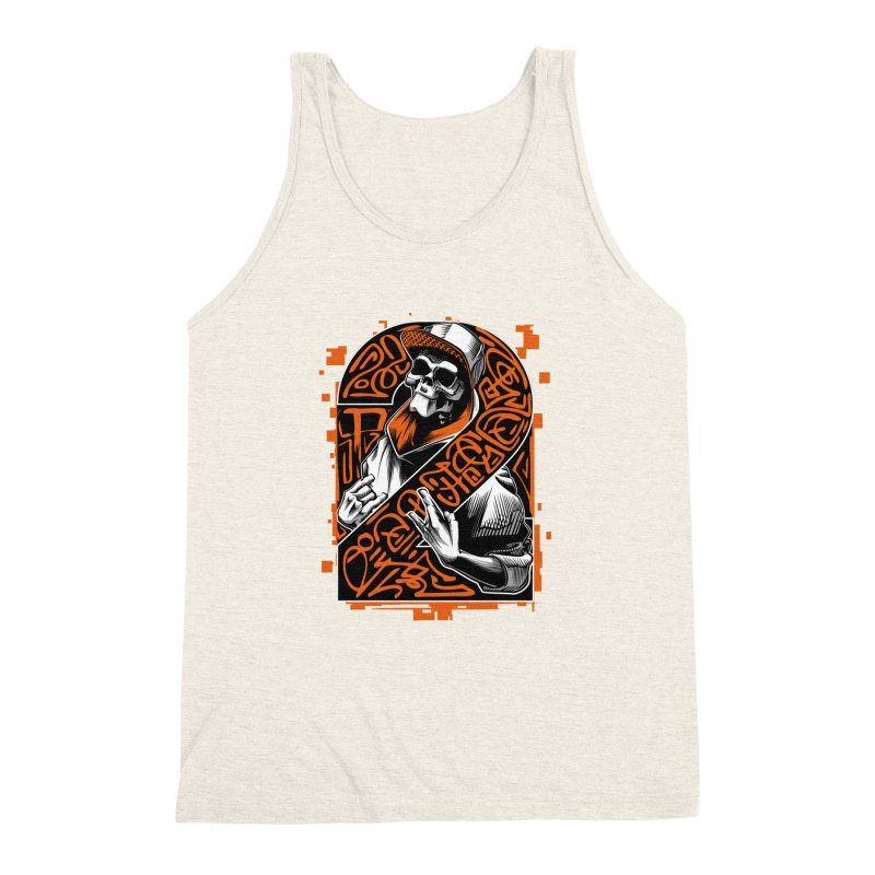 be yourself  Men's Triblend Tank by fishark's Artist Shop