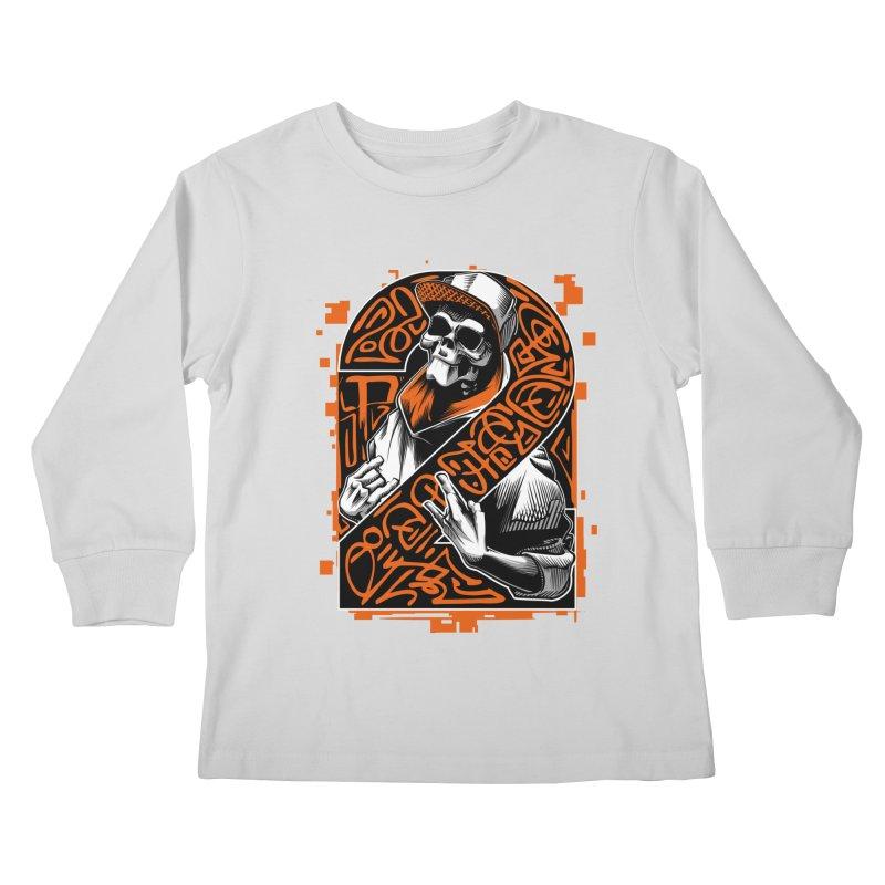 be yourself  Kids Longsleeve T-Shirt by fishark's Artist Shop