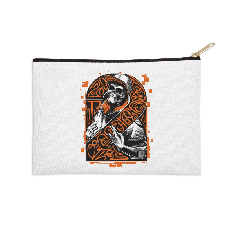 be yourself  Accessories Zip Pouch by fishark's Artist Shop